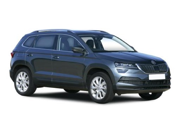 Skoda Karoq Estate available with 2000 per month on a Skoda Long Term Car Rental