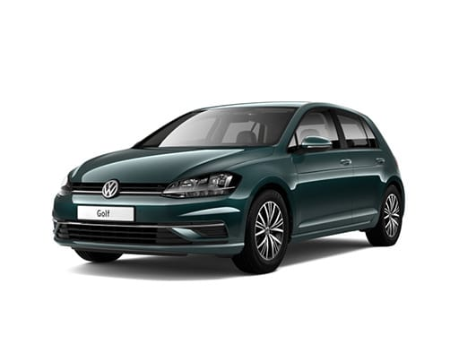 Volkswagen Golf Hatchback available with 1000 per month on a Volkswagen Long Term Car Rental
