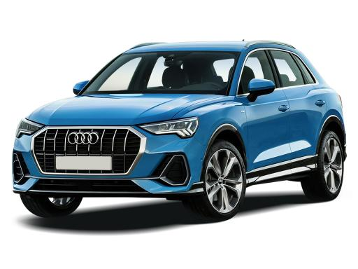 Audi Q3 Sportback 35 TFSI S Line S Tronic on 12 month car lease from DJ Link Cars