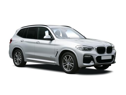 BMW X3 Estate xDrive 20d M Sport on 9 month car lease from DJ Link Cars