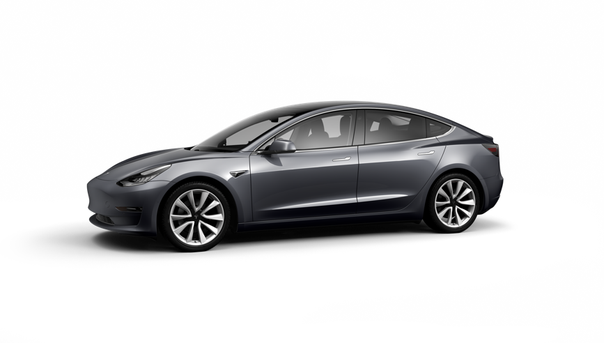 Tesla Model 3 Saloon Long Range AWD on 18 month car lease from DJ Link Cars
