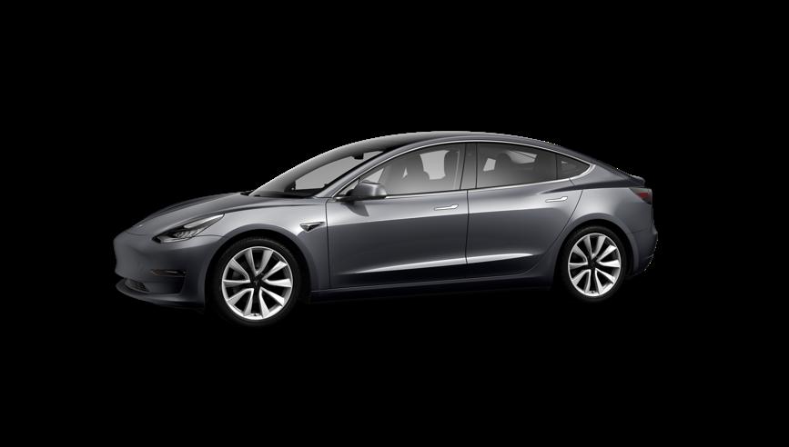 Tesla Model 3 Saloon Standard Plus on 12 month car lease from DJ Link Cars