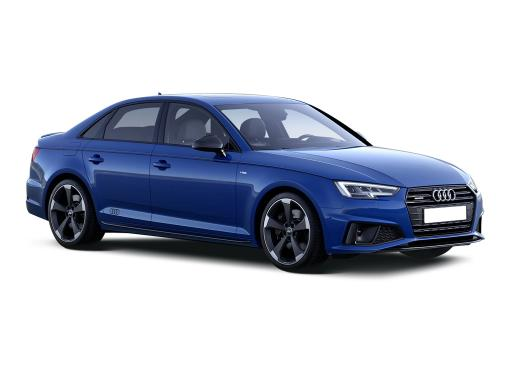 Audi A4 Saloon 35 TFSI Black Edition S Tronic on 12 month car lease from DJ Link Cars
