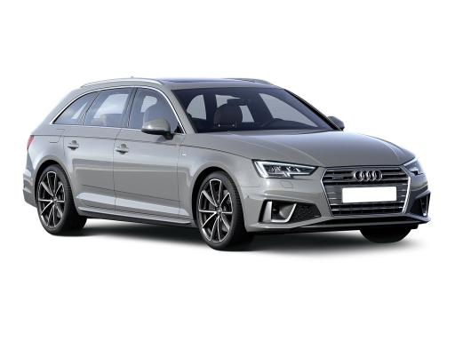 Audi A4 Avant 35 TFSI Black Edition S Tronic on 9 month car lease from DJ Link Cars