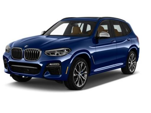 BMW X3 Estate xDrive 20d M Sport on 12 month car lease from DJ Link Cars