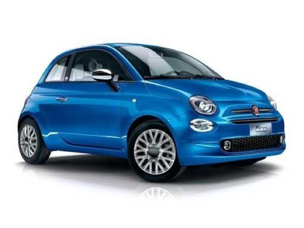 Fiat 500 Hatchback 1.2 Lounge Dualogic on 6 month car lease from DJ Link Cars