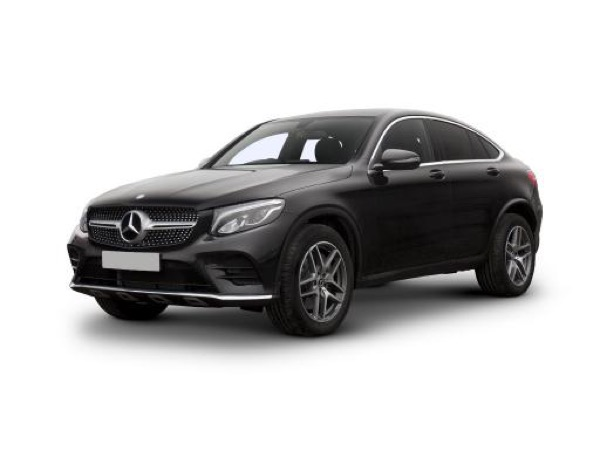Mercedes-Benz GLC Coupe GLC 300 4Matic AMG Line on 9 month car lease from DJ Link Cars