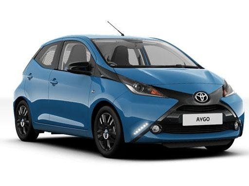 Toyota Aygo Hatchback 1.0 VVT-I xShift on 6 month car lease from DJ Link Cars