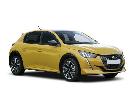 Peugeot 208 Hatchback EV 100 kW Active 50kWh on 23 month car lease from DJ Link Cars