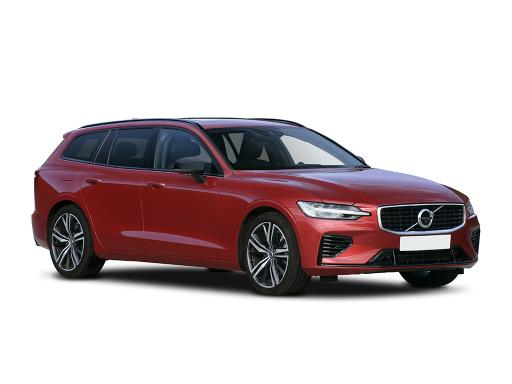 Volvo V60 Sportswagon 2.0 B4P R Design on 7 month car lease from DJ Link Cars