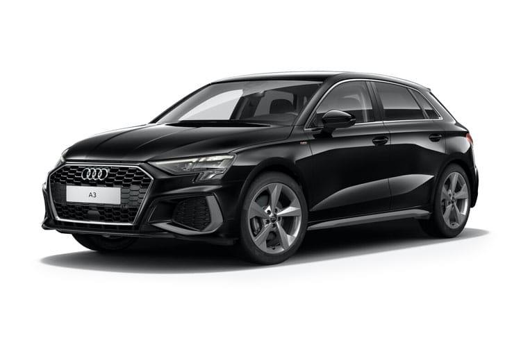 Audi A3 Sportback 30 TFSI Technik S Tronic on 9 month car lease from DJ Link Cars