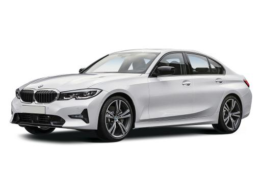 BMW 3 Series Saloon 318i Sport on 9 month car lease from DJ Link Cars