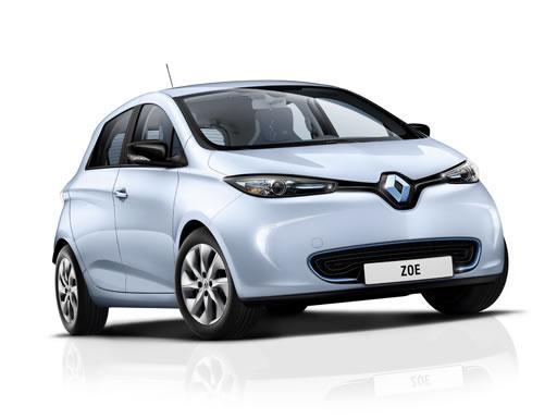 Renault Zoe Hatchback 100KW i GT Line R135 50KWh on 12 month car lease from DJ Link Cars