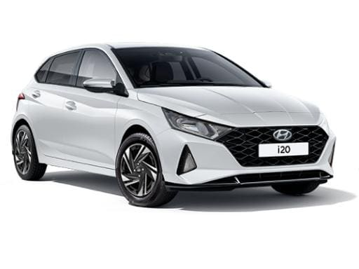 Hyundai i20 Hatchback 1.0T GDI 48v MHD SE Connect DCT on 6 month car lease from DJ Link Cars